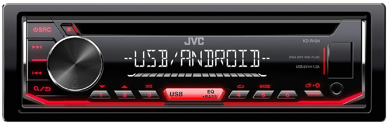 JVC KD-R494 Sintolettore CD, Nero