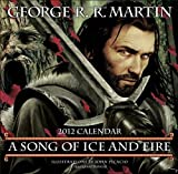 A Song of Ice and Fire Calendar 2012