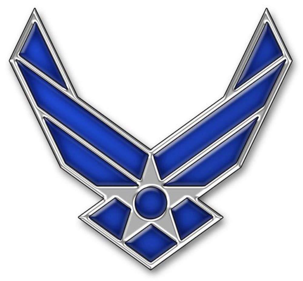 "Metal Lapel Pin - US Air Force Pin & Emblem - US Air Force Wings II Logo 3/4"""