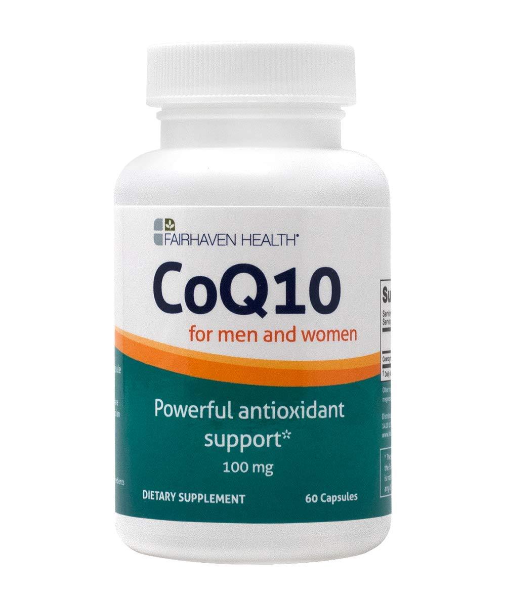 Fairhaven Health CoQ10 for Fertility (100mg, 60 Softgels)
