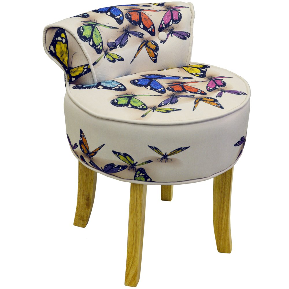 BUTTERFLY - Pouf chaise - Multicolor