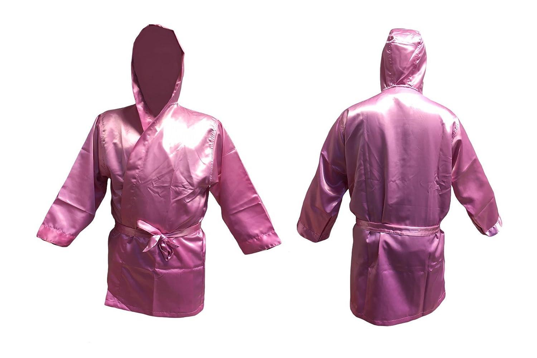 Boxeo Manto pink tamaño junior / chica Abrigo para boxeo kickboxing promoción: Amazon.es: Deportes y aire libre