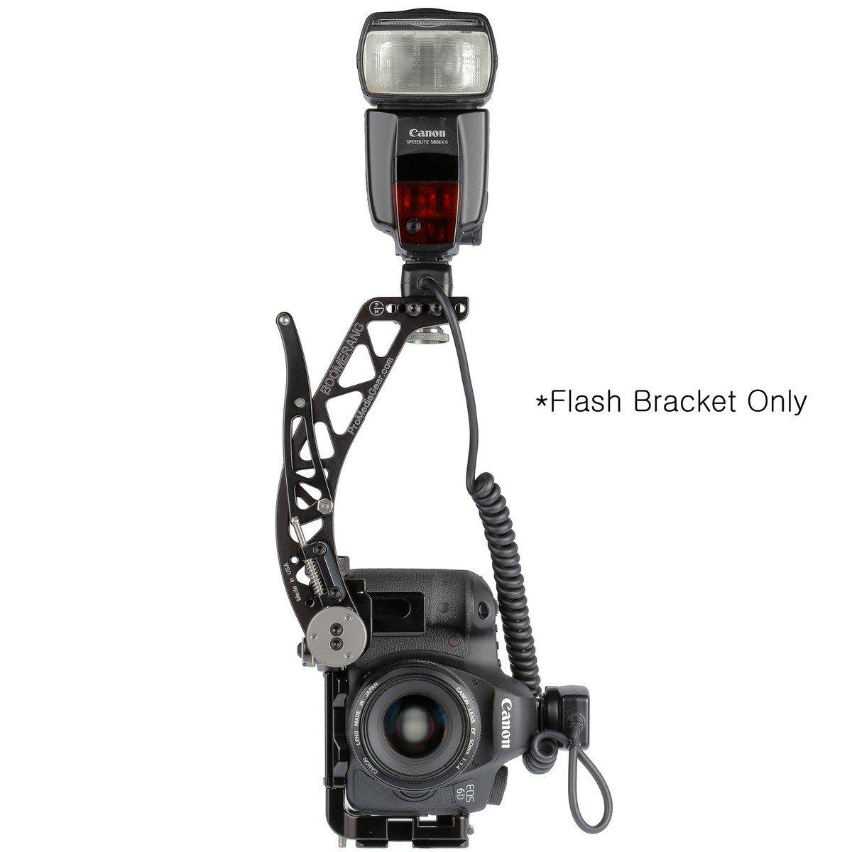 ProMediaGear BBX Boomerang Flash Bracket   Flash Mount Bracket for Cameras Without Grip BBX-PBX3BD