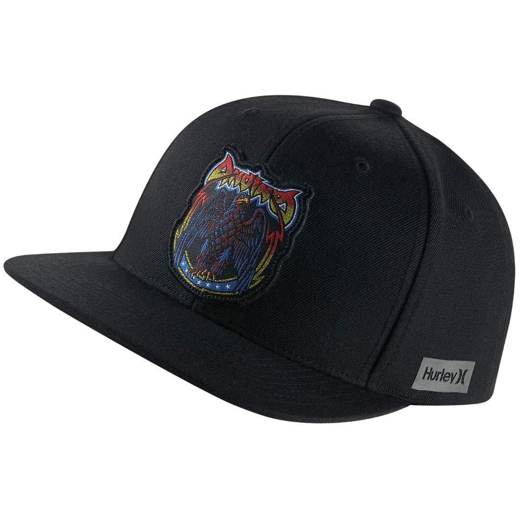 7d74db13b27 Amazon.com  Hurley Men s Team Pro Snapback Hat (Adrian  Ace  Buchan -  Rainbow Serpent)  Sports   Outdoors