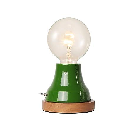 Brighttia Industrial Vintage Metal Table Desk Lamp Mid