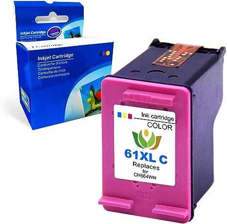 Amazon.com: Lovyi - Cartucho de tinta para HP 61 XL, color ...