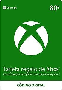 Xbox Live - 80 EUR Tarjeta Regalo [Xbox Live Código Digital]