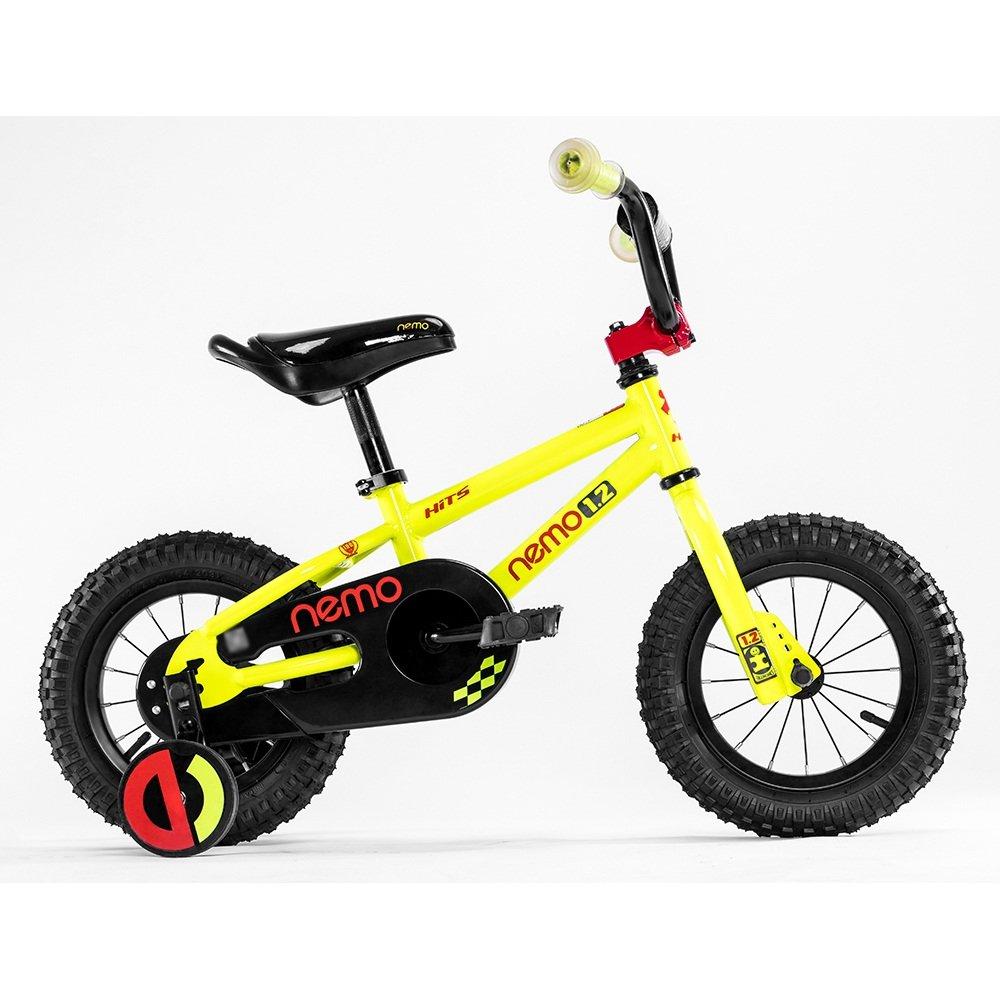 HAIZHEN マウンテンバイク 子供用自転車 トレーニングホイール付きの少年の自転車と少女の自転車 12インチ、14インチ、16インチ、18インチ アウトドアアウト 新生児 B07C6S13T9 14 inch|イエロー いえろ゜ イエロー いえろ゜ 14 inch