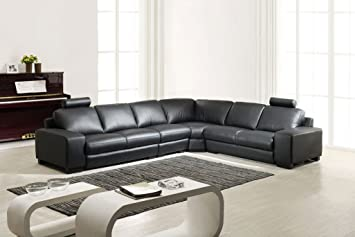Mapo Möbel Completo de Piel sofá rinconera de sofá de ...