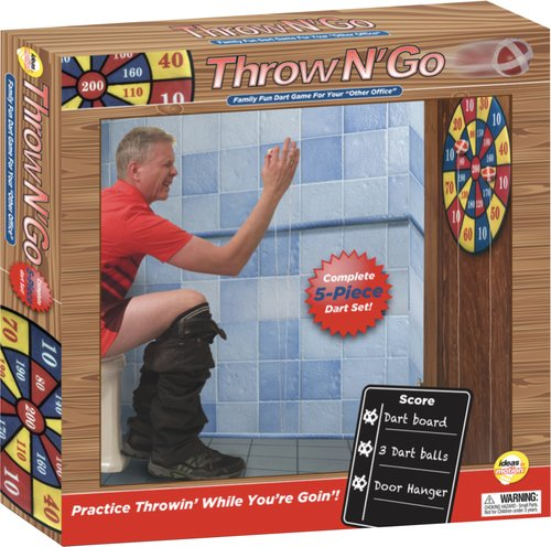 Ideas In Moion Throw N Go- Juego de Dardos Divertido para tu Oficina