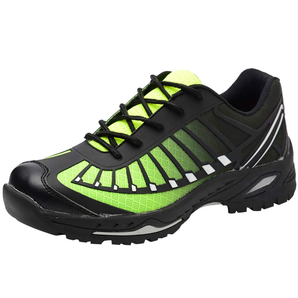 Running Shoes Men Trail Sneakers Mens Road Running Shoes Tennis Sports Shoes Athletic Fitness Outdoor Lightweight Sneaker for Men Women Green