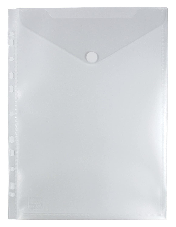 by EXXO HFP opuscolo con anta a ribalta e banda 10 pcs 312 x 223 millimetri Blu trasparente