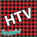"Arts & Crafts : RED BUFFALO PLAID PATTERN HTV Heat Transfer Vinyl 12""x14"" Flannel Pattern for Shirts"