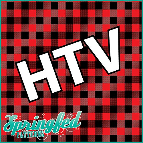 Red Buffalo Plaid Pattern Htv Heat Transfer Vinyl 12 Quot X14