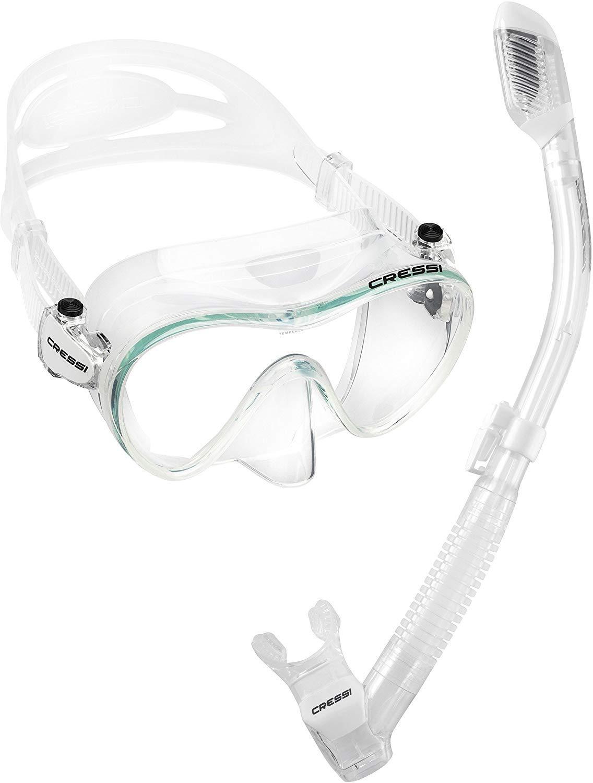Cressi Scuba Diving Snorkeling Freediving Mask Snorkel Set by Cressi