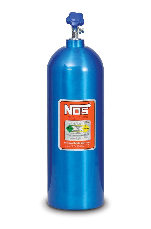 NOS 14760NOS 20 lb. Electric Blue Nitrous Bottle