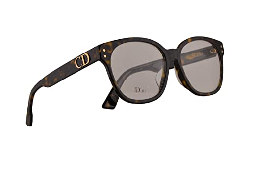 817b936d6daa Image Unavailable. Image not available for. Color  Christian Dior DiorCD1F Eyeglasses  53-16-145 Dark Havana ...