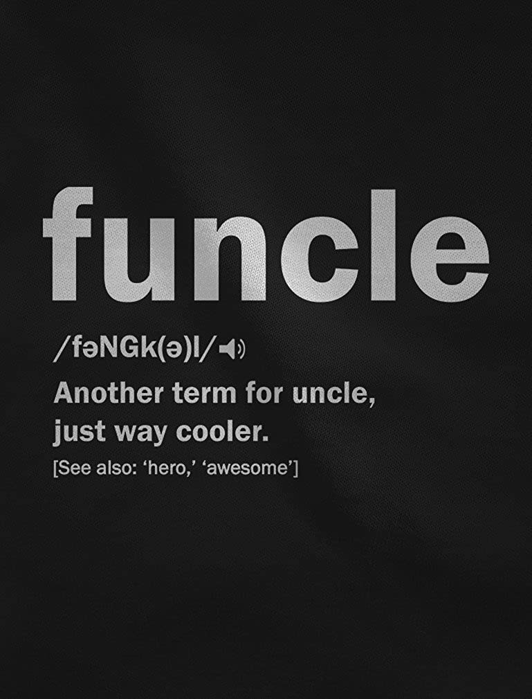 332a9d4df562 Funny Funcle Definition Men T Shirt I Printed Tshirt Uncle/Brother Present:  Amazon.co.uk: Clothing