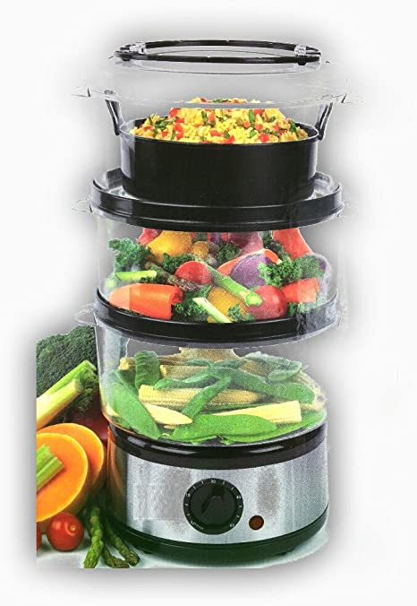 Vaporizador 500 W Universal Robot de cocina • Vaporera • 500 W Resistencia • 7,5 litros capacidad Capacidad • sin BPA • Incluye accesorio de vapor Gar: Amazon.es: Hogar
