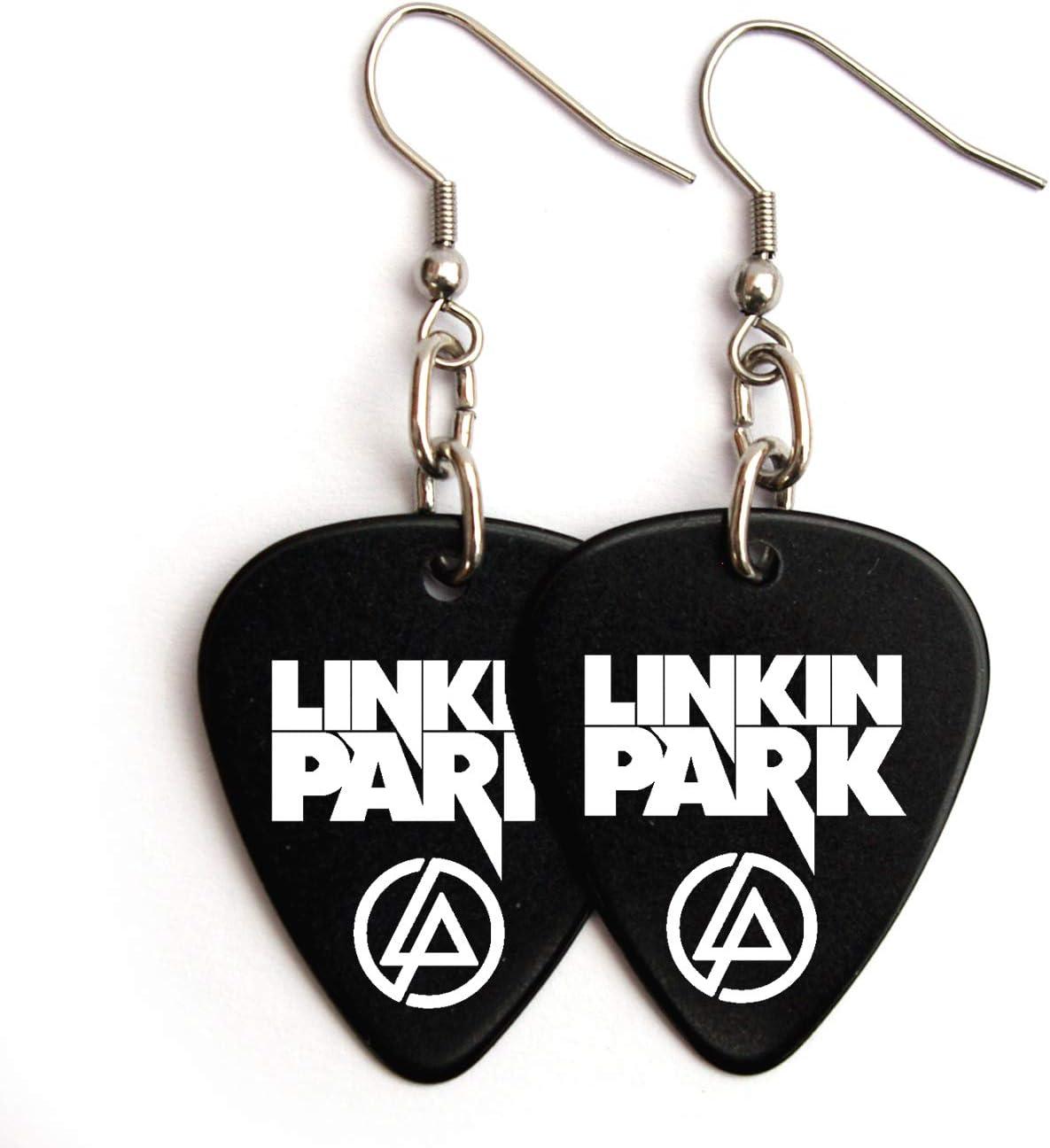 BW Linkin Park Orecchini con plettro per chitarra