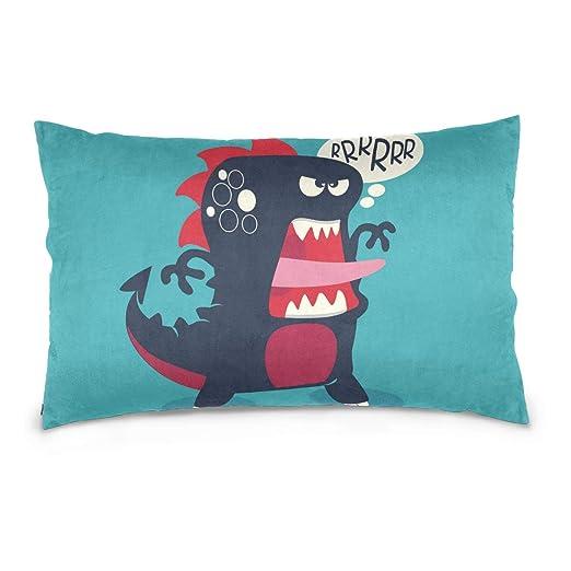 hengpai Dinosaur - Funda de Almohada para sofá o Cama ...