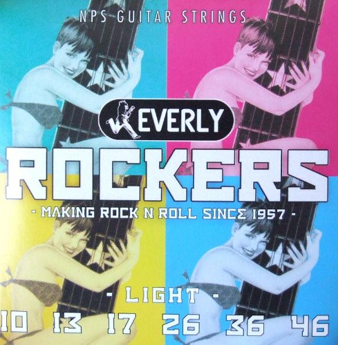 (訳ありセール 格安) Everly strings strings Rockers Everly #9010 エレキギター用弦×12セット Rockers B01CS1I744, 髪屋:e882b75f --- arianechie.dominiotemporario.com