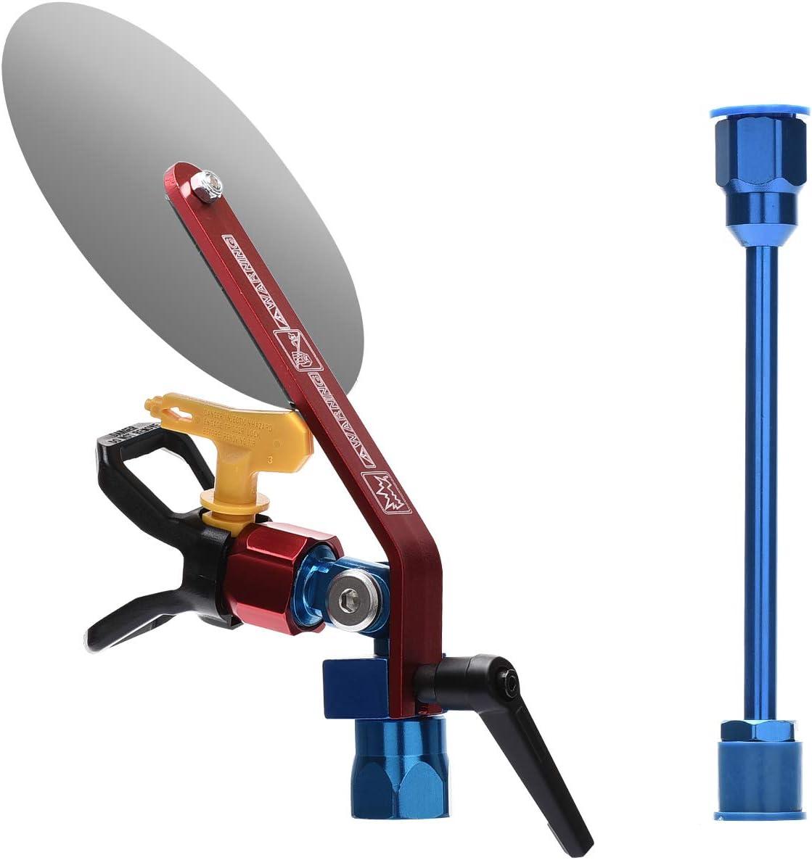 T&R Universal Herramienta de Guía de Spray de Pintura Airless con Extensión del Pulverizador y Protector de Punta y 517 Boquilla de Pistola de Pintura para Pistola de Pintura Airless