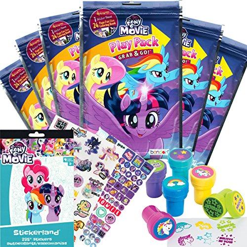 Delicate My Little Pony Party Favor Set