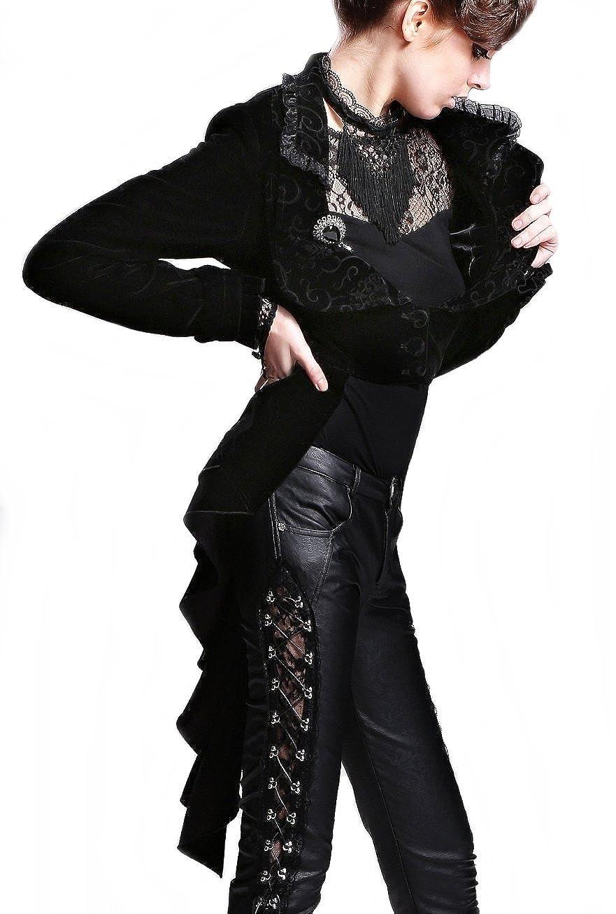 Disfraces Mujer Festiva Chaqueta Blazer FRAC Burlesque ...