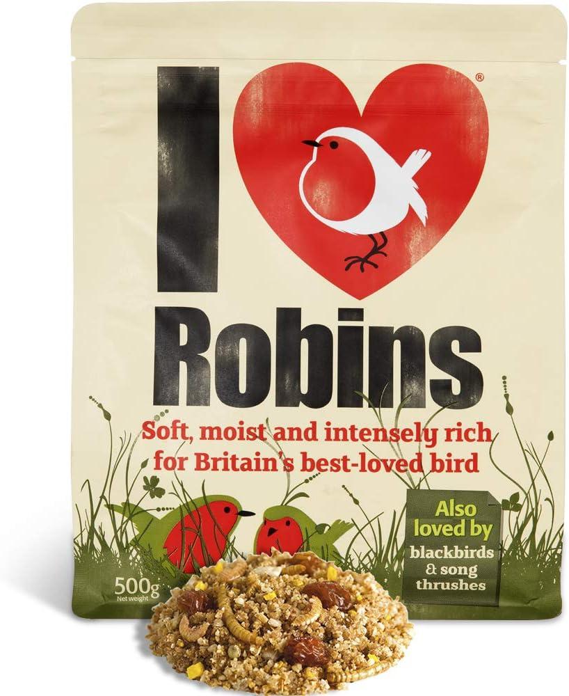 Robin Cibo 500G-I Love ROBINS-super-ricchi UCCELLINO AD ALTA ENERGIA cibo per Robins,