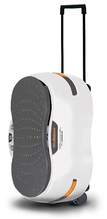 Tecnovita Yv12 - Plataforma vibratoria, Color Blanco