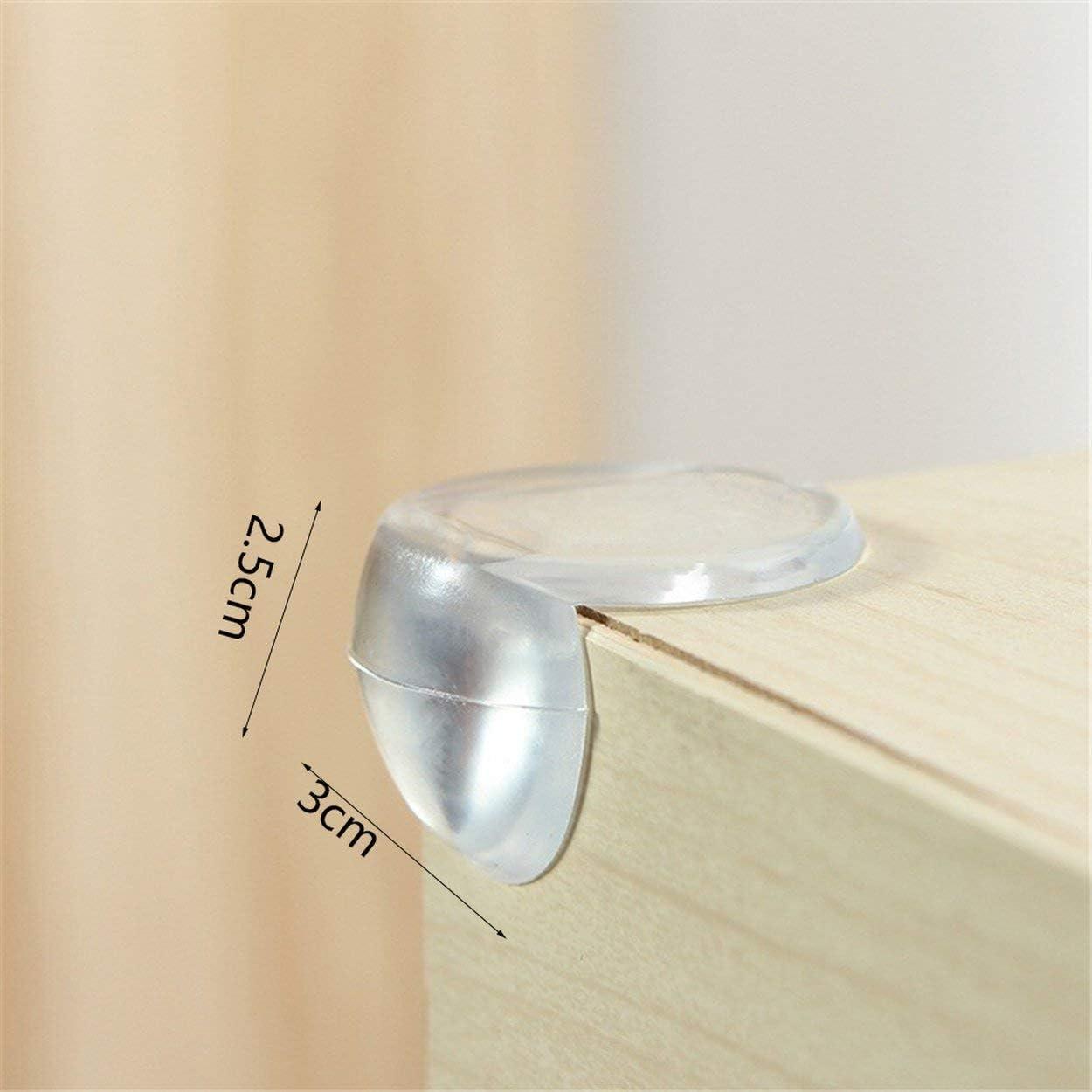 Lorenlli Table en Verre pour b/éb/é Housse de Protection pour Coin Type de p/âte Tapis de Protection pour Enfants Tapis Anti-Collision Table Tapis de Protection pour Coin Mural