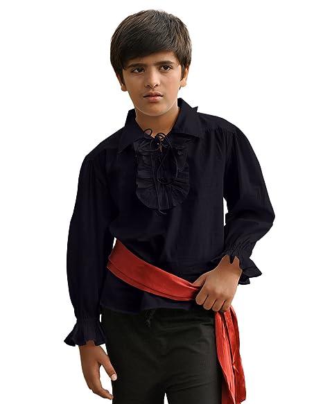 Amazon.com: Disfraz de pirata medieval renacentista para ...