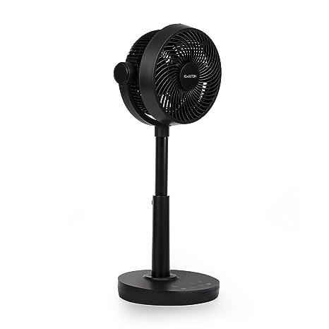 Klarstein Neo Stream • Ventilador de pie • Ángulo de inclinación vertical 90º • Oscilación horizontal