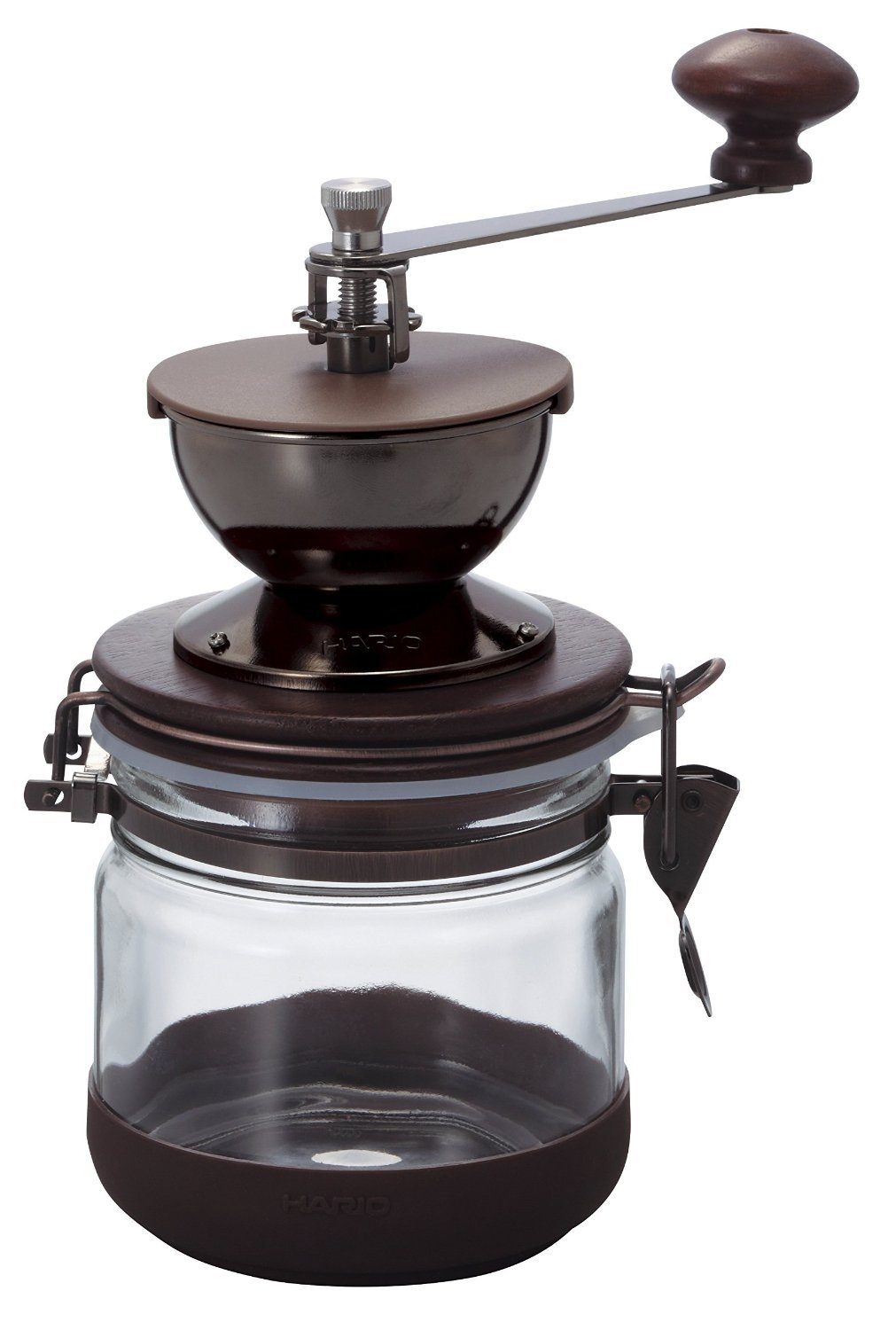 Hario CMHN-4''Canister'' Ceramic Coffee Mill Manual Grinder, 120g