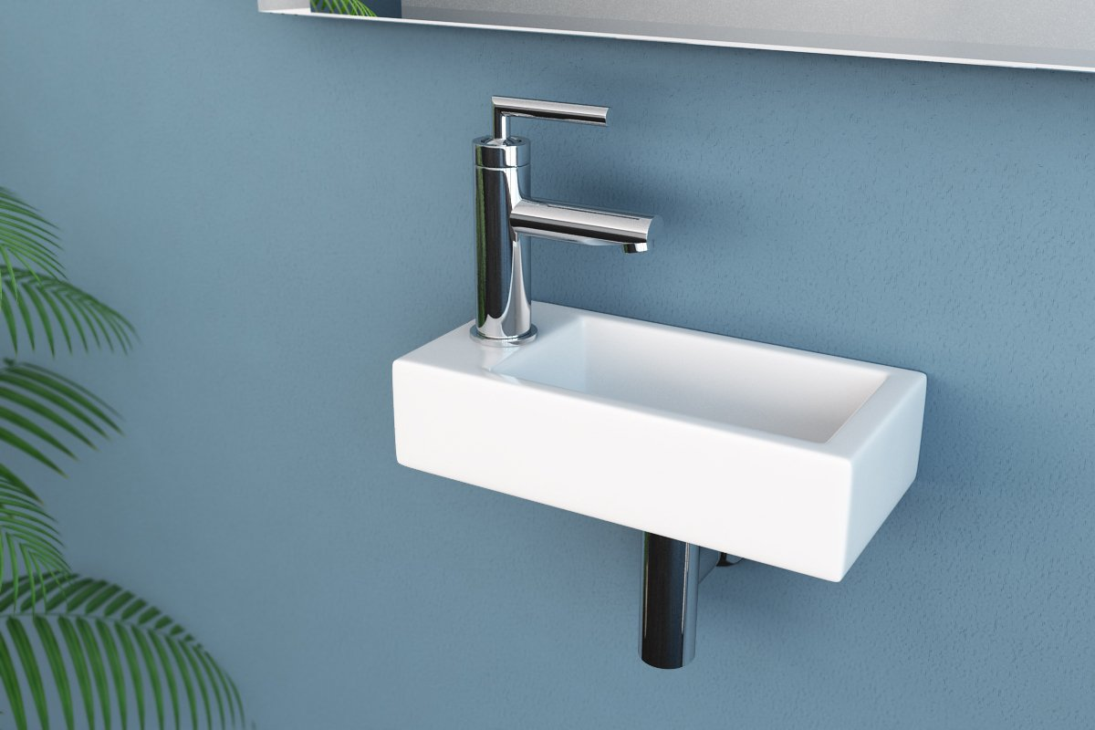 230 V Durchlauferhitzer für das Waschbecken
