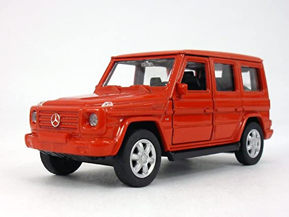 Amazon.com: MERCEDES BENZ G Class (G500) Wagon 1/32 Scale Diecast Metal  Model   Red: Toys U0026 Games