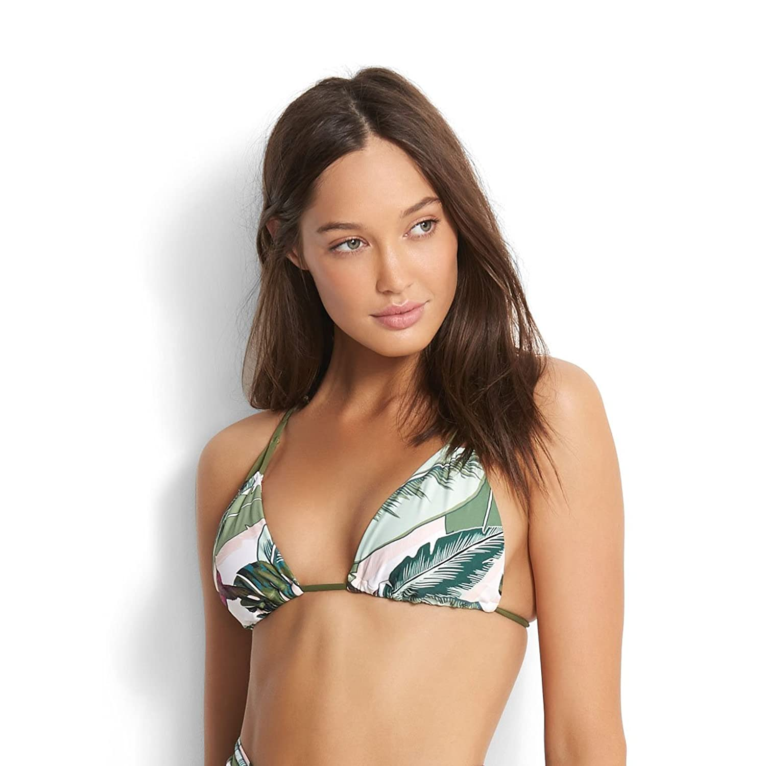 Seafolly Damen Bikini Oberteil Palm Beach