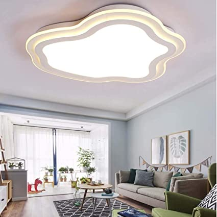 LUHEN Ceiling Light  Creative Clouds Ultra   Thin Fashion Warm Children U0027s  Room Led