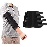 Elbow Splint Immobilizer Elbow Brace Carpal Tunnel, Ulnar Nerve, Fractured Stabilizer, Injuries, Broken, PM Night Protector Support Restraints Sleeve
