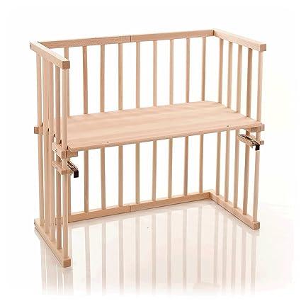 babybay mini - 140100 - Cuna de colecho, color madera natural [Importado de Alemania