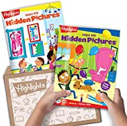 Highlights Hidden Pictures Club - Kids Hidden Pictures Subscription: AGES 6+ BOX