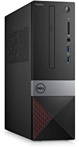 Latest_Dell Vostro Small Desktop with Intel Core i7-9700 Processor, 8GB RAM, 1TB HD, Wireless + Bluetooth, HDMI, VGA, DVD R/W, SD Card Reader,Win 10 Pro, Keyboard and Mouse