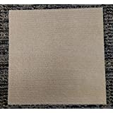 Peel and Stick Carpet Tiles Beige 12 Inch X 12 Inch 144 Square Feet Tan