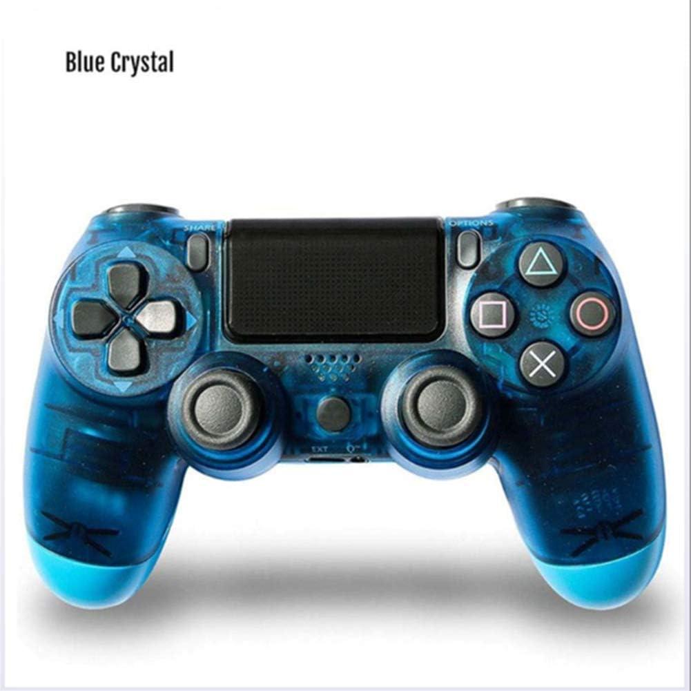 ZZS Controlador De Juego Inalámbrico, Controlador De Controlador Ps4 Bluetooth 4.0 Doble Cabeza De Cabeza Manipule Mando Mando Game Pad para Jugar Consola 4