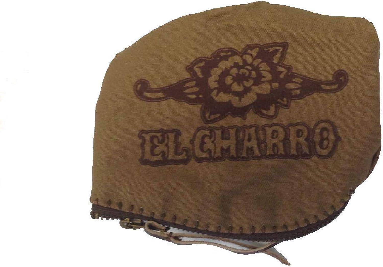 Hebilla de cintur/ón para hombre plateado Talla /única El Charro