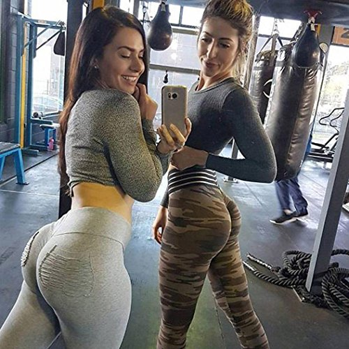 Women Floral Print Trouser Ladies Slim Leg Legging Ladies Yoga Pants Gym Trouser