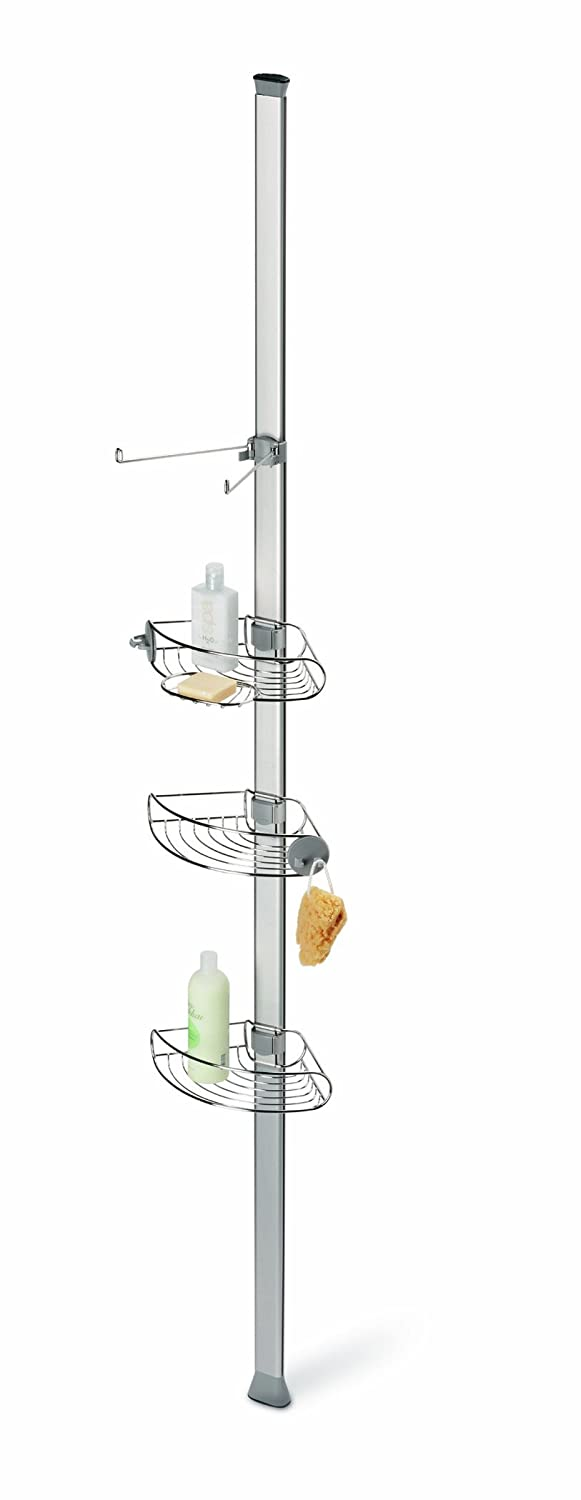 simplehuman Tension Shower Caddy, Brushed Stainless Steel: Amazon.co ...