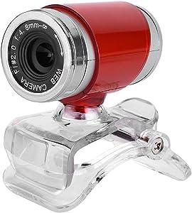 MAVIS LAVEN 360° CMOS Night-Vision Webcam for Live Streaming HD 720P Clip-on USB Pro Web Camera Desktop Webcam with Microphone, 12 Megapixel Video Cam Plug & Play (3)