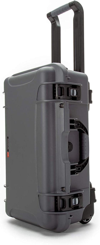 Empty. Nanuk 935 Graphite Carry on case with 2 TSA Locking latches No Foam